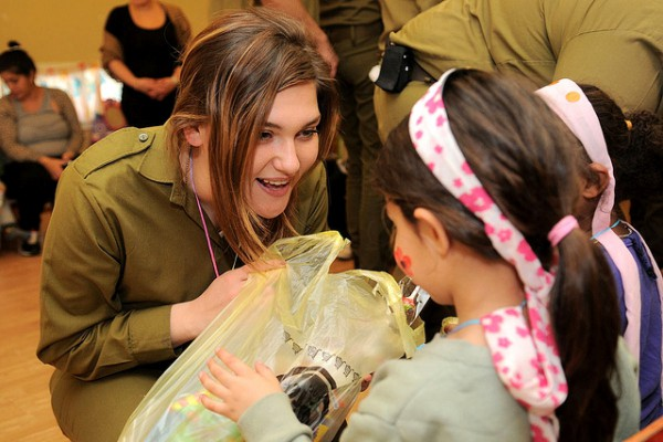 Purim-soldiers