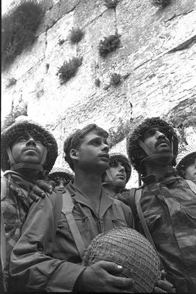 Paratroopers-Six-Day-War-Western-Wall