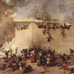 Destruction of the Temple of Jerusalem-Francesco Hayez