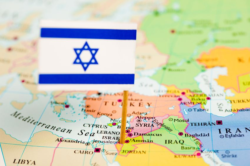 Israel is a very small country that is roughly the size of New Jersey in the United States or Vancouver Island in Canada. This tiny Jewish state is surrounded by a massive sea of 22 Arab countries, and an even vaster sea of Muslim majority countries.  Most of those countries are hostile to the existence of a Jewish state.