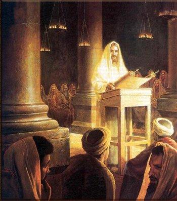 Portrait of Yeshua-Scroll of Isaiah-Messiah