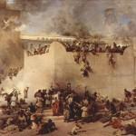 Destruction of the Temple of Jerusalem, by Francesco Hayez