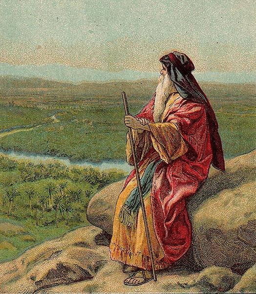 Moses-Pisgah-Death of Moses-Jordan River