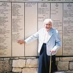 Pearl Righteous Wall-Jewish Survivor-Holocaust