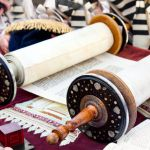 Torah scroll-Kotel Independence Day