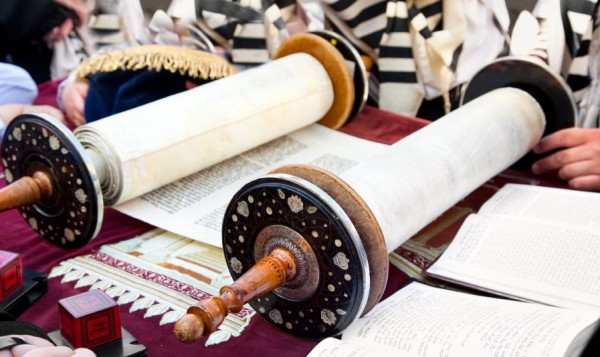 Torah-scroll-Western Wall
