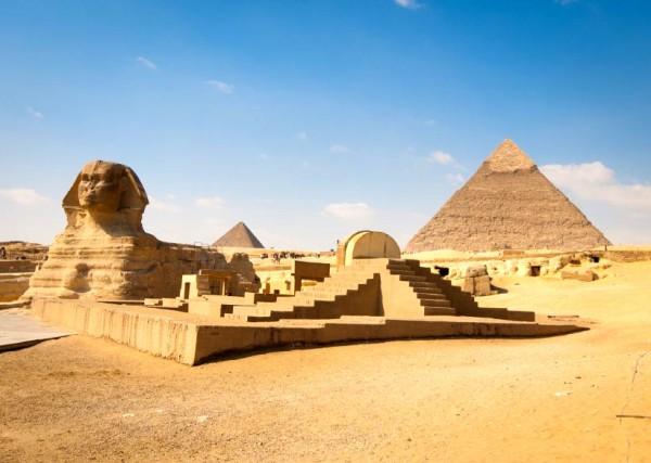 Giza-Sphinx-Egypt-Pyramid