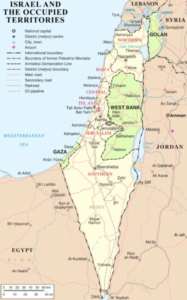 Israel-occupied-territories-map