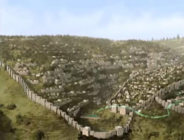 pool of siloam, hezekiah's tunnel, city of david