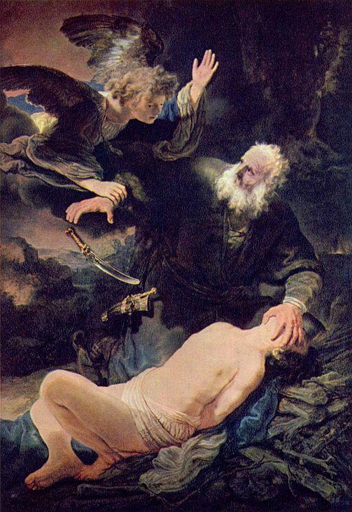 Rembrandt-Isaac-sacrifice