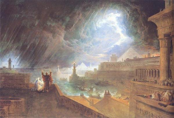 The Seventh Plague-John Martin