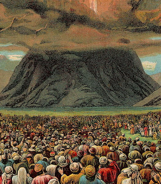 Ten Commandments-Moses-Mount Sinai-Children of Israel