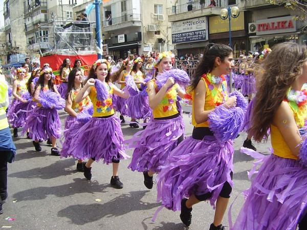 purim-parade-Israel