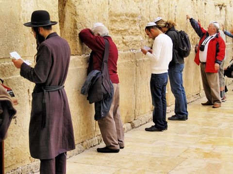 men's section-Western Wall