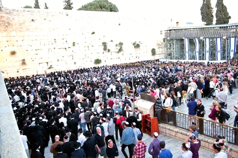 Western Wall-sacred site-prayers
