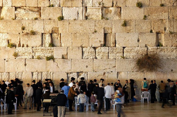 Western Wall-Jerusalem-dusk