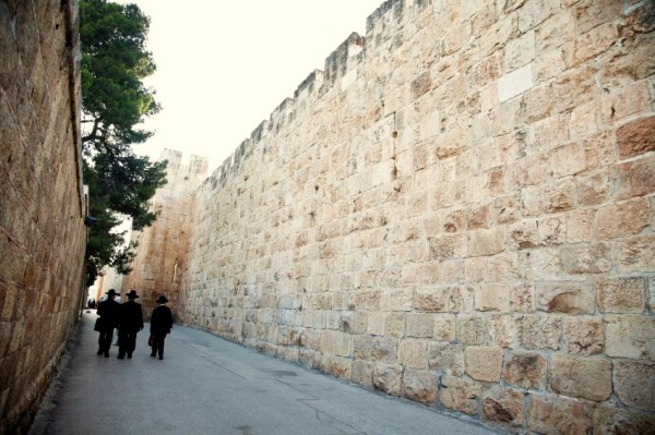 walls-old city-Jerusalem