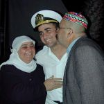Israel Defense Forces-Arab Naval Officer-ceremony-family
