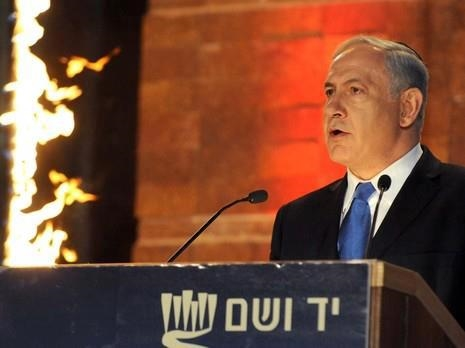 Netanyahu-Yad Vashem-Yom Hashoah-Holocaust