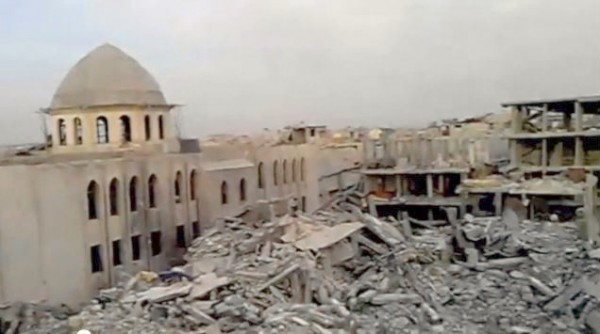Damascus_heaps of ruins
