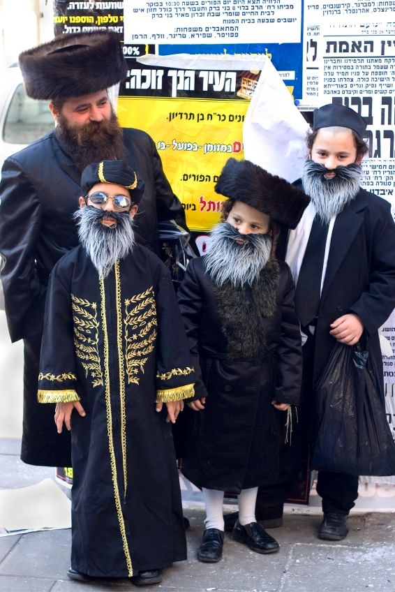 Bnei-Brak-Purim-children-costumes