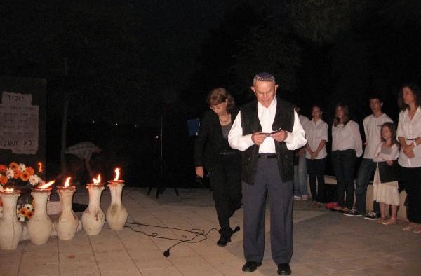 Holocaust survivor- Yom HaShoahceremony