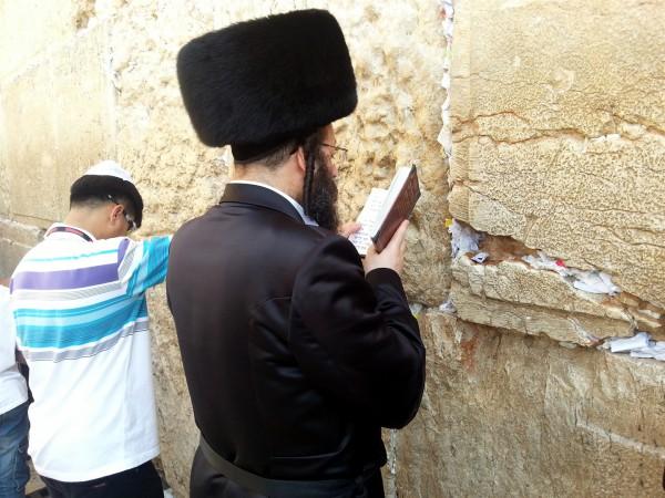 Kotel-prayer-Orthodox-tourist-Western (Wailing) Wall