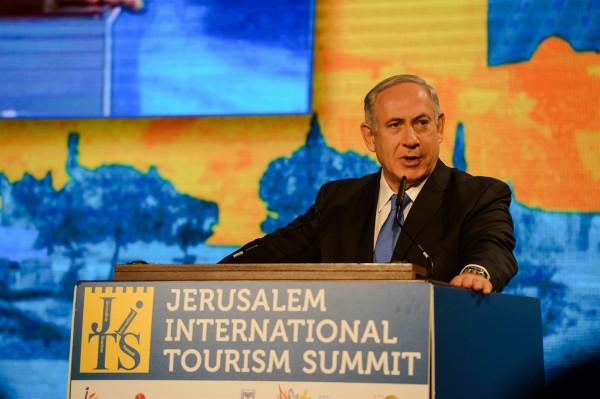 Netanyahu, Tourism summit 2013