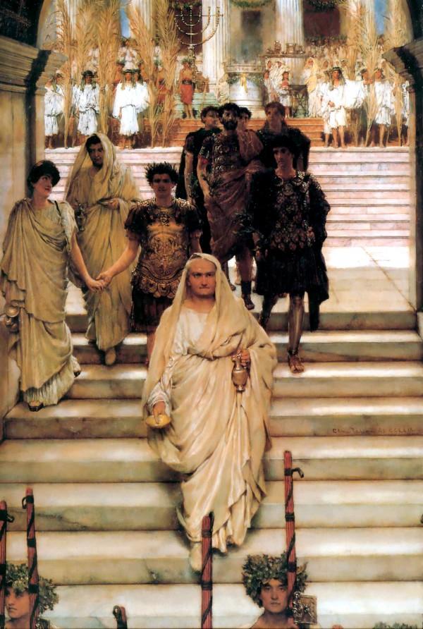The Triumph of Titus-Lawrence Alma-Tadema