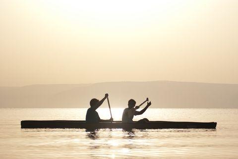 Kinneret sunrise, Sea of Galilee