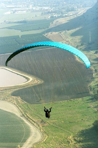 Paragliding, Gilboa Mountains