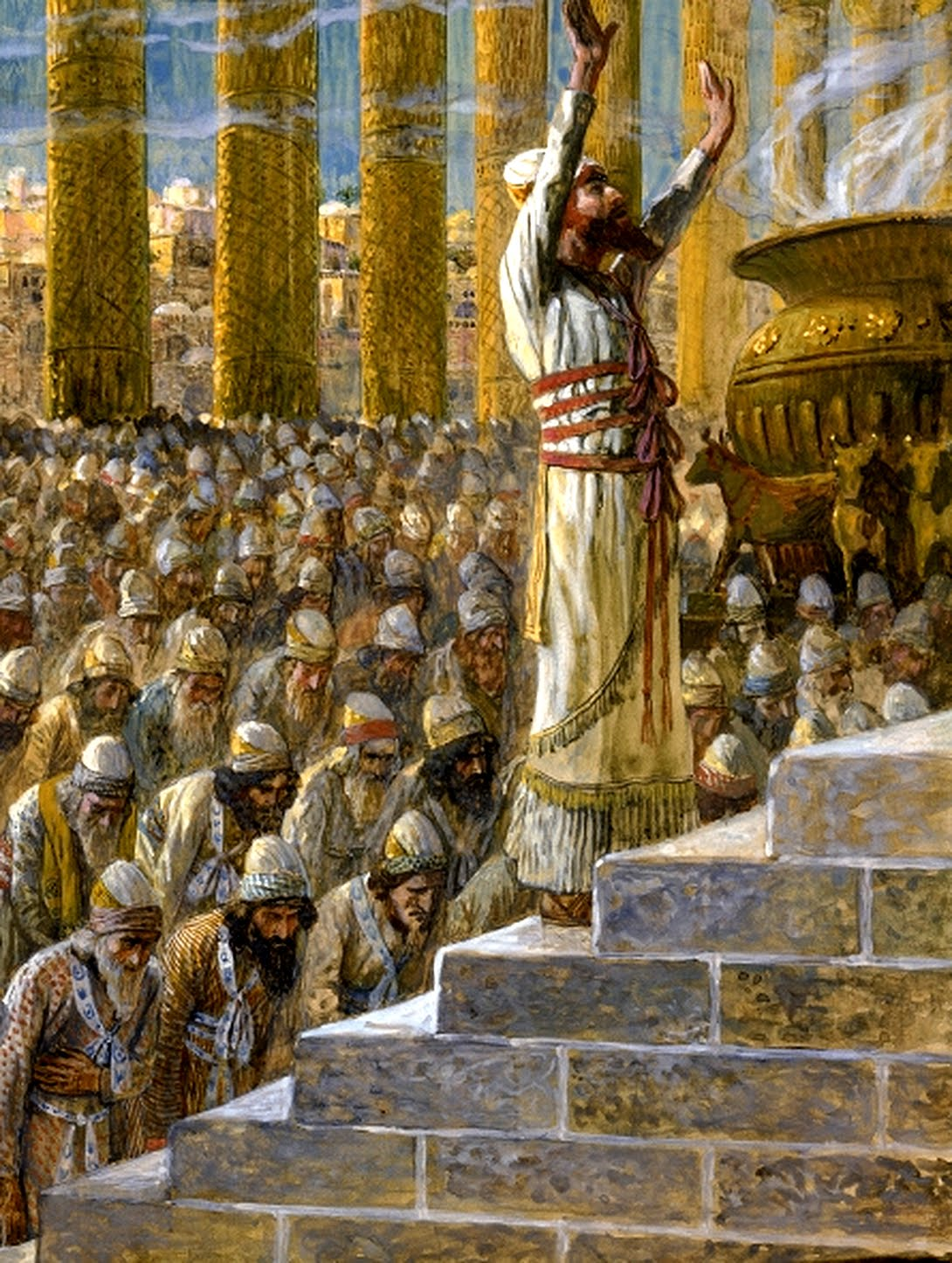 King Solomon -Temple-James Tissot