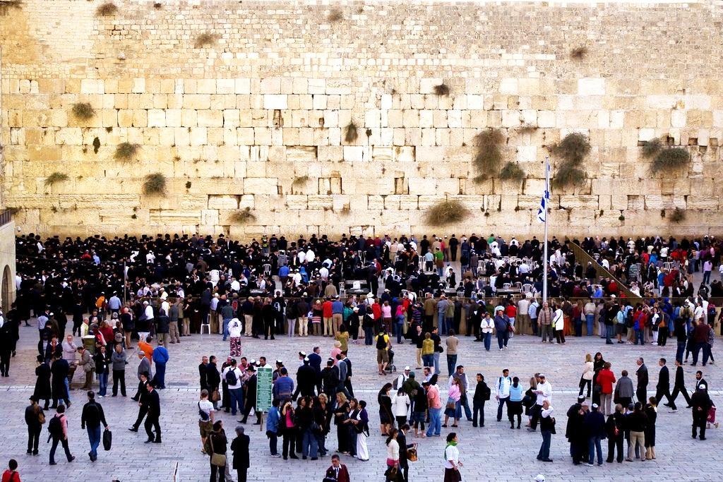 Western Wailing Wall-Jerusalem-Kotel-Plaza