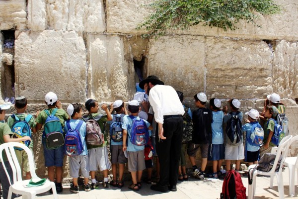 Children-Western Wall-michimaya