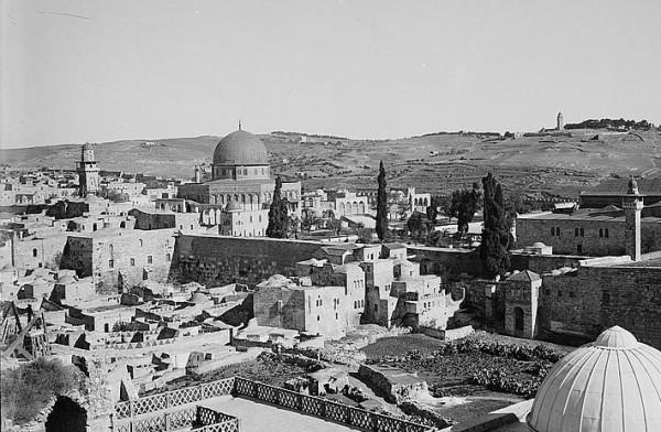 Moroccan-Quarter-Western-Wall-Jerusalem-Old