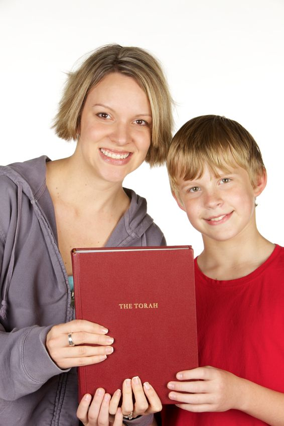 mother-son-torah