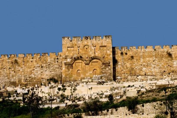 Golden Gate-Sha'ar Harachamim-Jerusalem