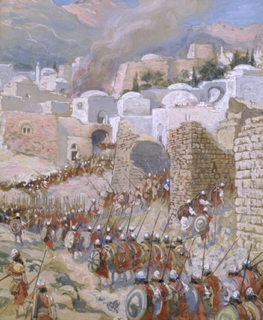 The Taking of Jericho-James Tissot