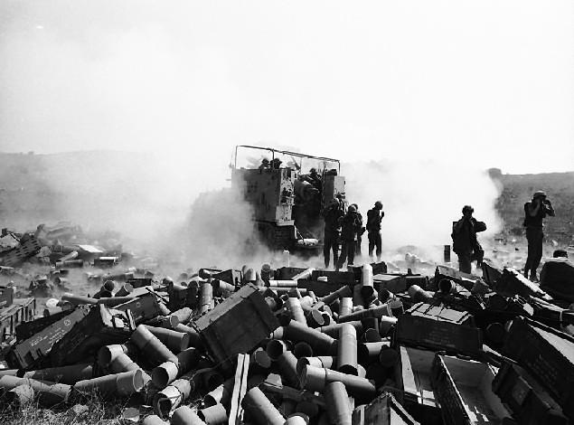 Yom Kippur War-The Bloody Valley of Tears Battle-IDF