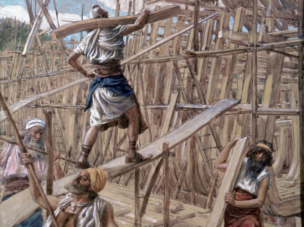 Building the Ark-James Tissot