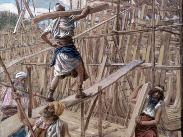 Building the Ark-James Tissot