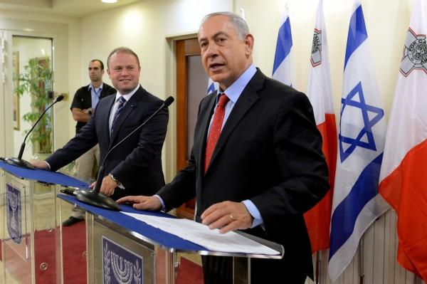 Netanyahu-Muscat-Jerusalem-Malta