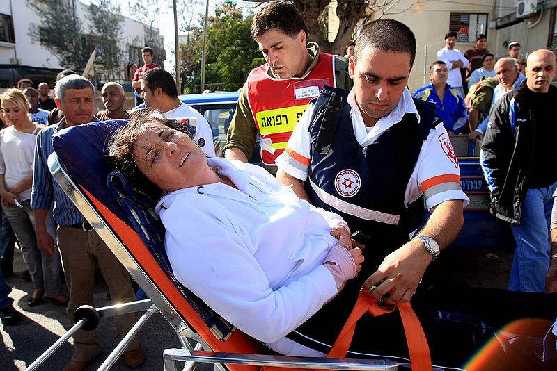 violence-Hamas-injured-women-Beer Sheva