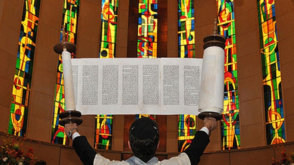Torah- lifted-Congregation Dorshei Emet-Hampstead-Canada