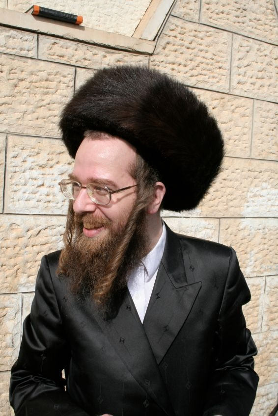 Chasidic Jewish male-fur hat-shtreimel-Shabbat-Jewish holidays