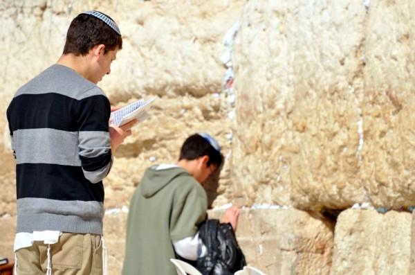 Orthodox teen-Kotel-Western Wailing Wall-Chosen People