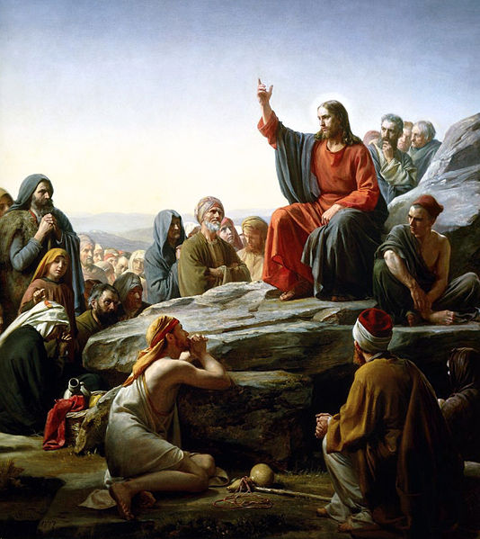 Sermon On The Mount, by Carl Bloch
