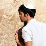 Kippah-Pray-Western (Wailing) Wall