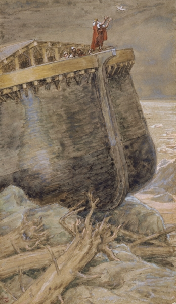 The Dove Returns to Noah-James Tissot