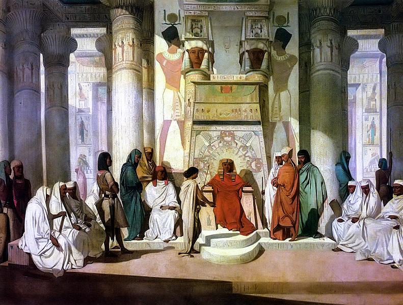 <strong>Joseph Explaining Pharaoh's Dream</strong>, by Jean Adrien Guignet